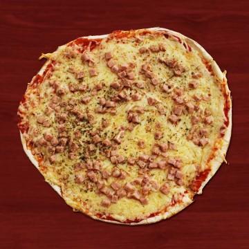 Pizza Jambon Fromage - Chez Manu -Peyragudes
