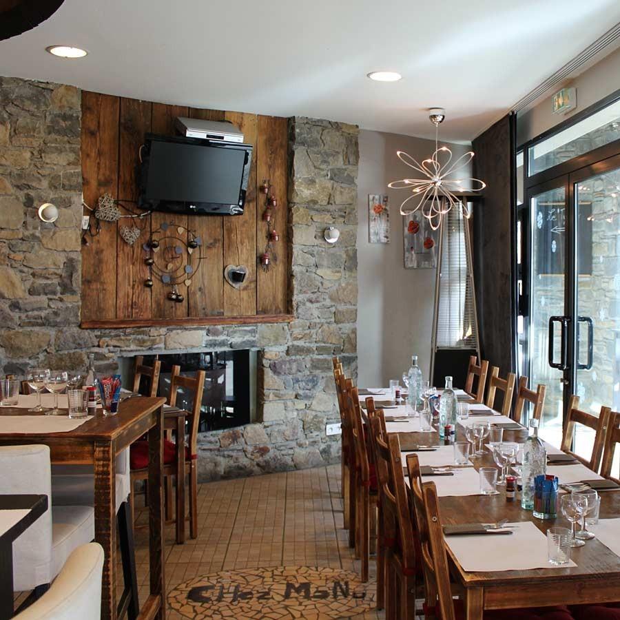 Salle du restaurant peyragudes chez manu for Resto lasalle